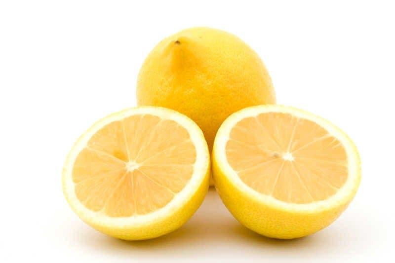 citron rajeunir peau