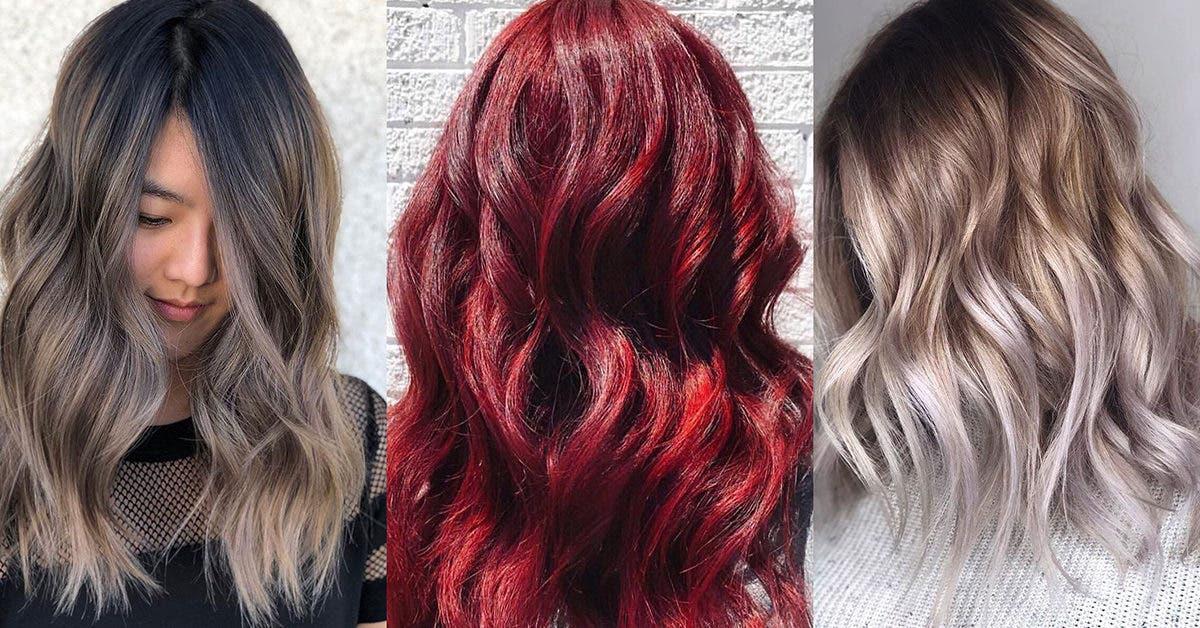 Les 50 meilleures couleurs de cheveux et les tendances pour 2022