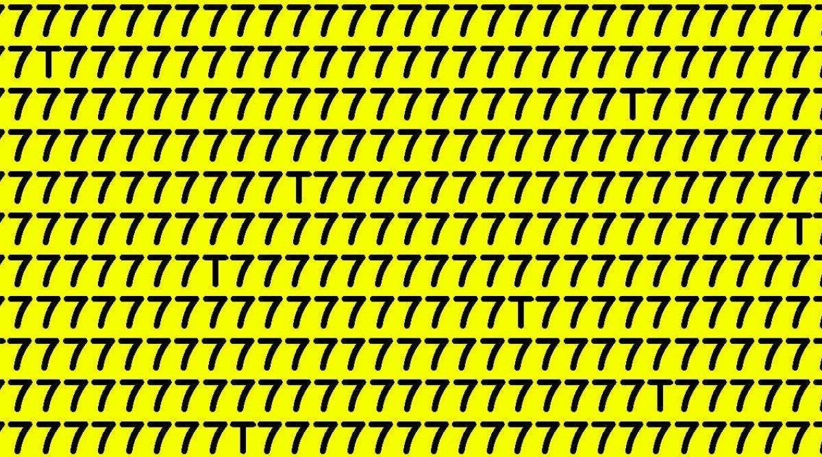 Peu de gens trouvent la solution : combien de T pouvez-vous trouver sur cette photo ?