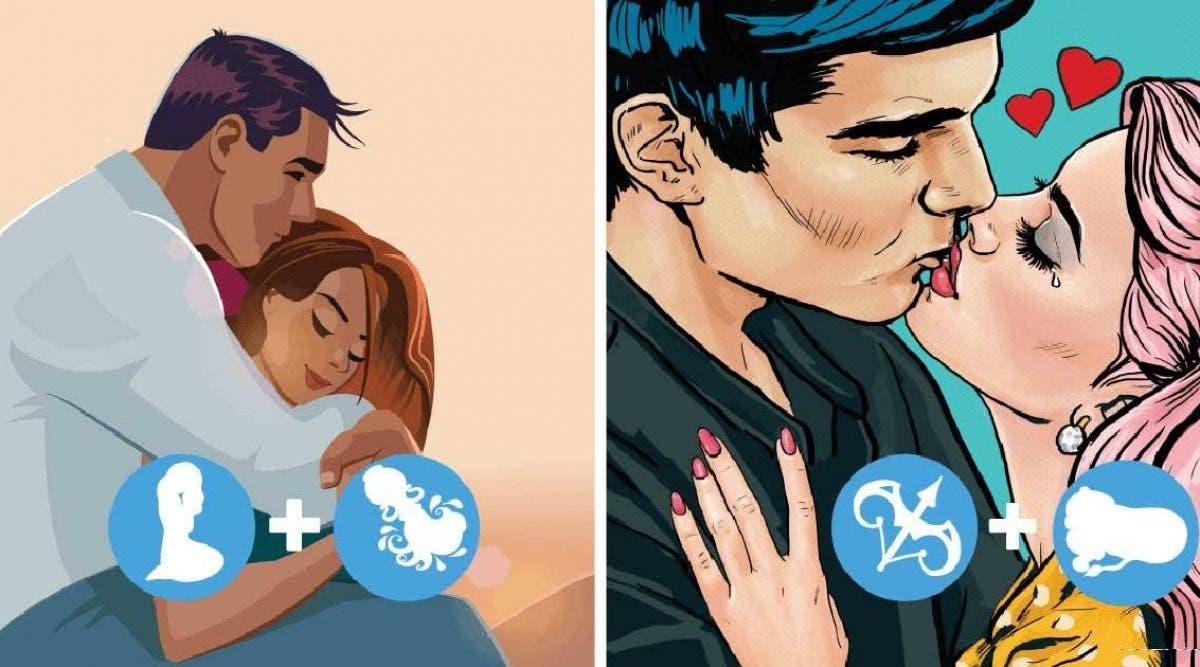 combinaisons de signes du zodiaque qui font des couples qui durent