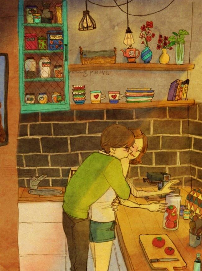 comment cet artiste voit et représente l'amour
