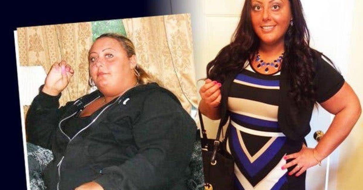 comment cette femme a perdu la moitie de son poids11