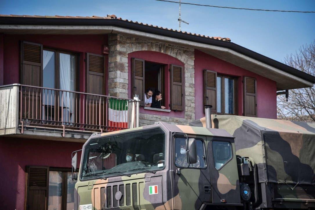 confinement italie
