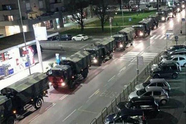 convoi militaire