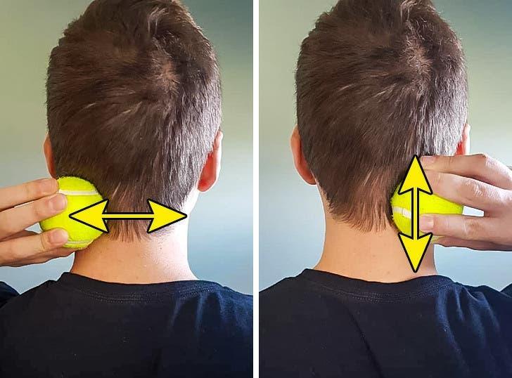techniques pour éliminer les douleurs du cou