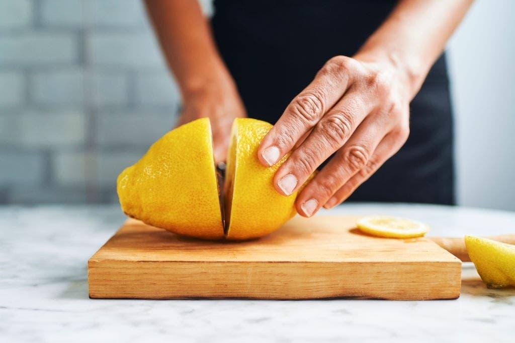 couper citron