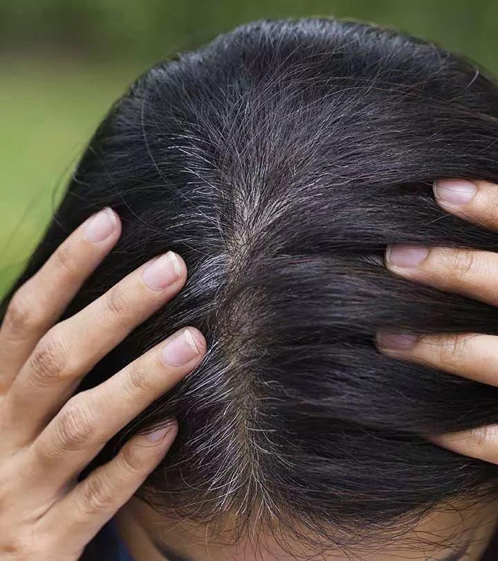 couvrir cheveux gris