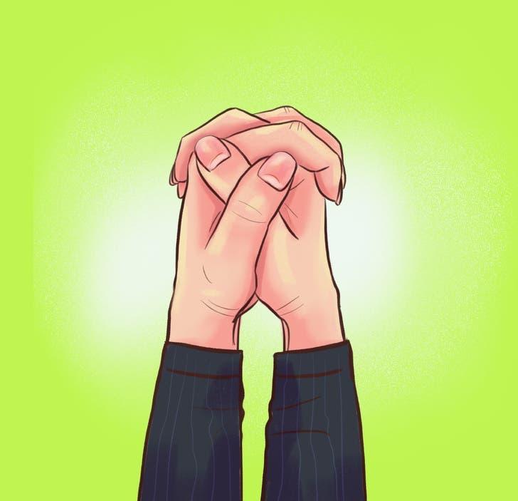 croisement des doigts