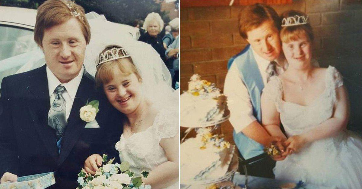 découvrez ce couple de trisomique qui vient de fêter son 23ème anniversaire de mariage