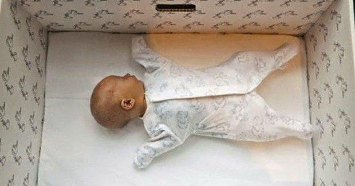 decouvrez la raison geniale pour laquelle chaque bebe en finlande dort dans une boite en carton 6