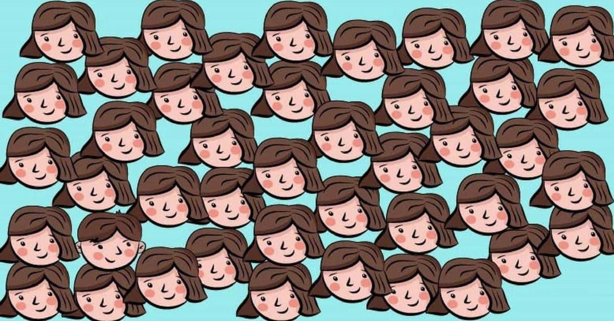 Le défi du jour : Pouvez-vous repérer le garçon parmi toutes les filles ?