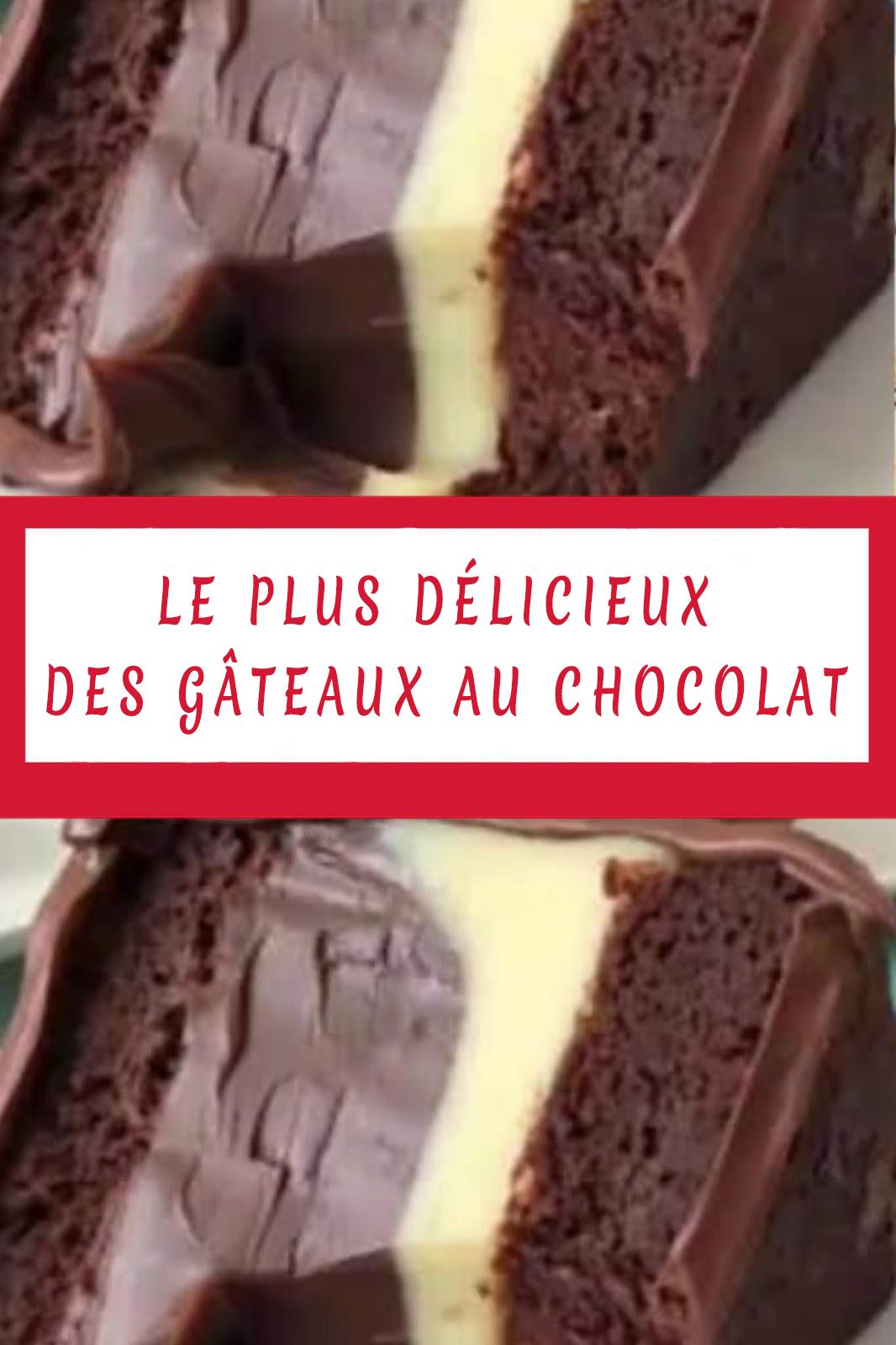 delicieux gateau chocolat