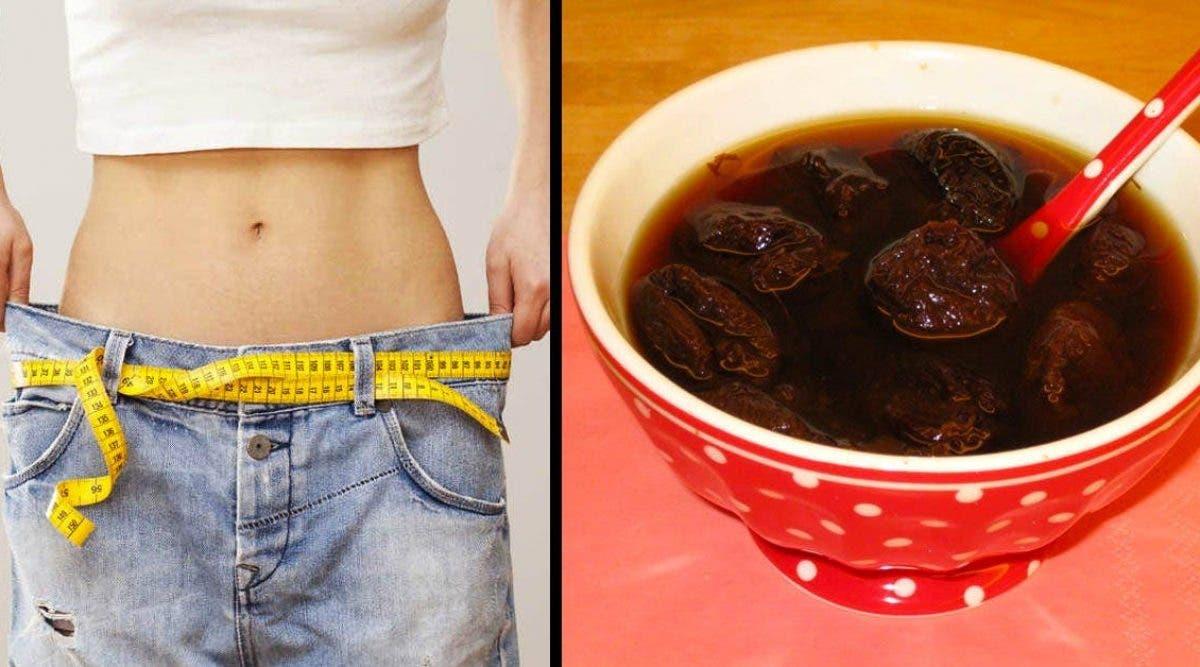Un délicieux remède aux pruneaux à boire tous les matins pour éliminer les graisses stockées dans le ventre