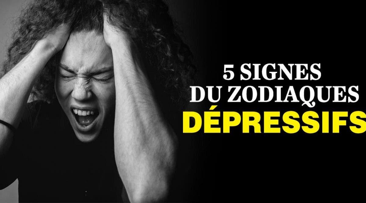 Astrologie : 5 signes du zodiaques dépressifs