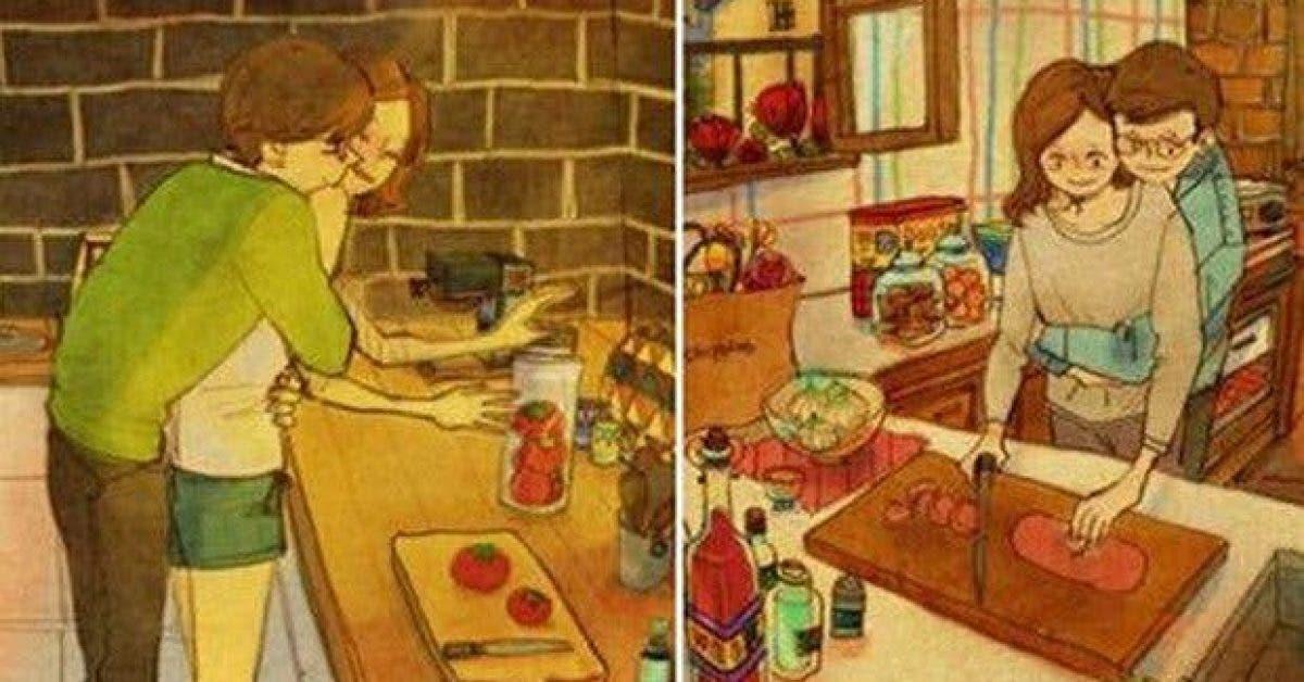 des illustrations magnifiques de ce a quoi ressemble le vrai amour 2