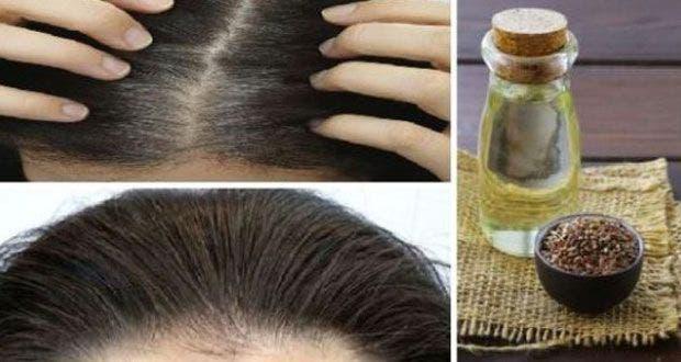 Huile d'argan pour les cheveux blancs