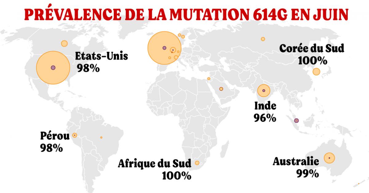 des-scientifiques-estiment-probable-quune-mutation-du-virus-en-debut-de-pandemie-ait-accelere-sa-propagation