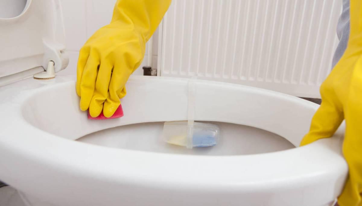 desinfecter toilettes