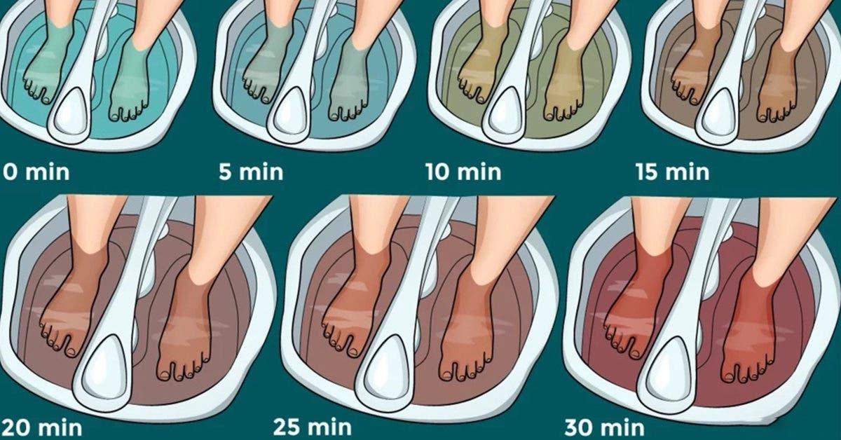 Voici comment vous pouvez détoxifier votre corps par vos pieds