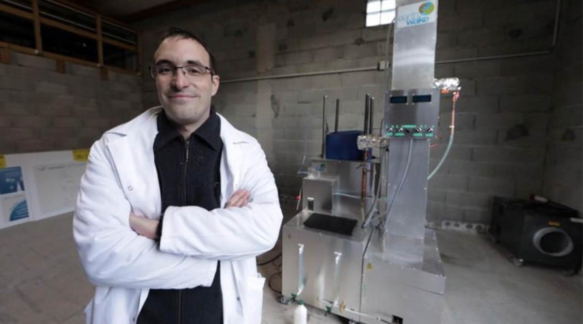 Un français invente une machine capable de transformer les déchets plastiques en diesel et en essence