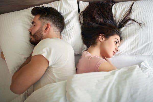 dormir dos a dos