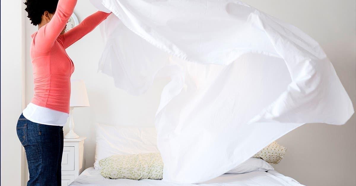 À quelle fréquence devez-vous laver vos draps ?