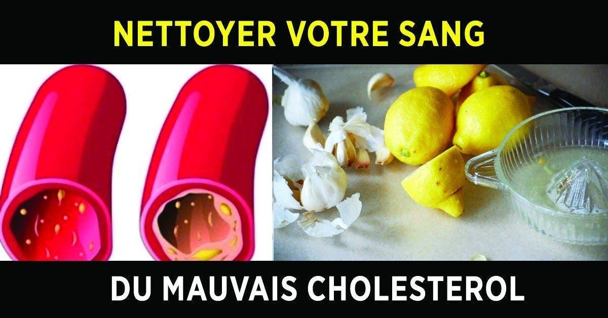 Une recette au citron pour nettoyer votre sang du cholestérol en 40 jours