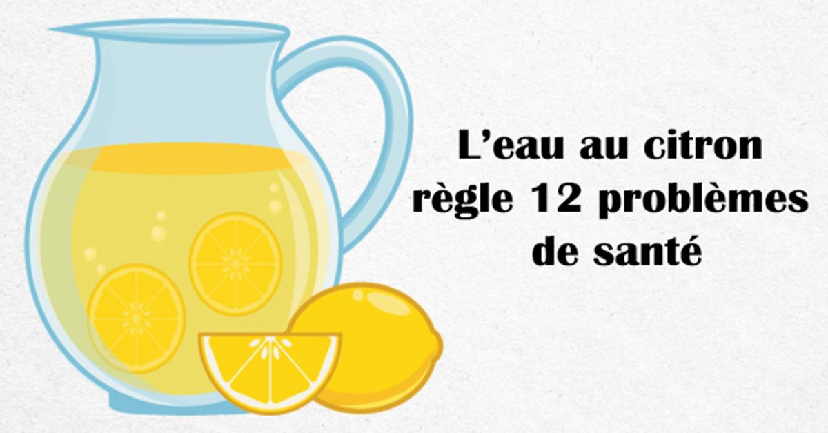 citron eau