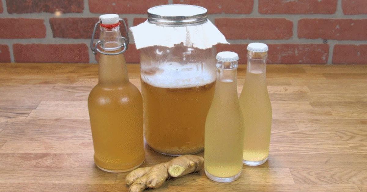 eau au gingembre