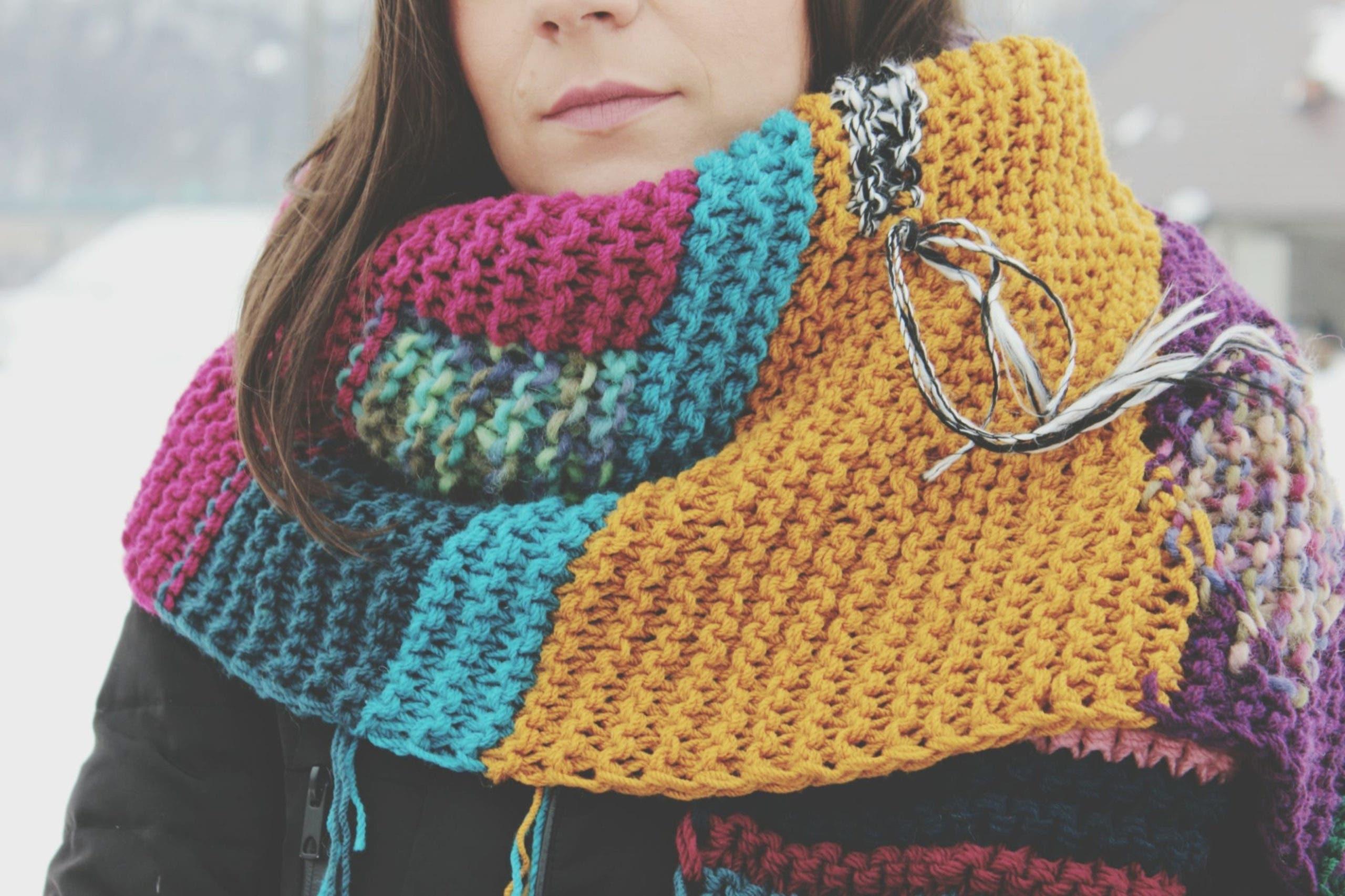 echarpe de laine