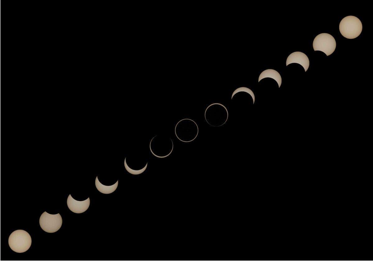 La plus grande éclipse annulaire de la décennie