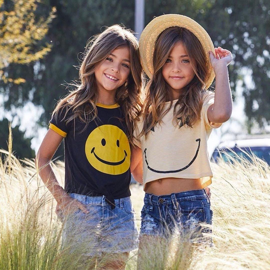 belles jumelles de la terre