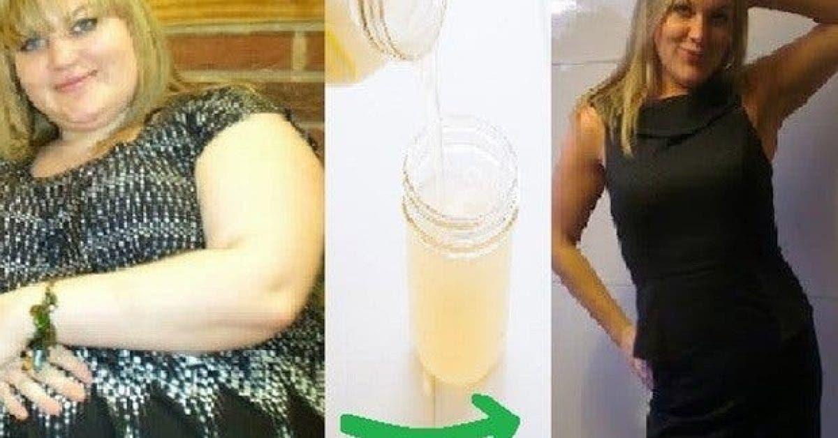 elle a bu cette boisson pour perdre du poids pendant 3 mois le resultat est surprenant 1