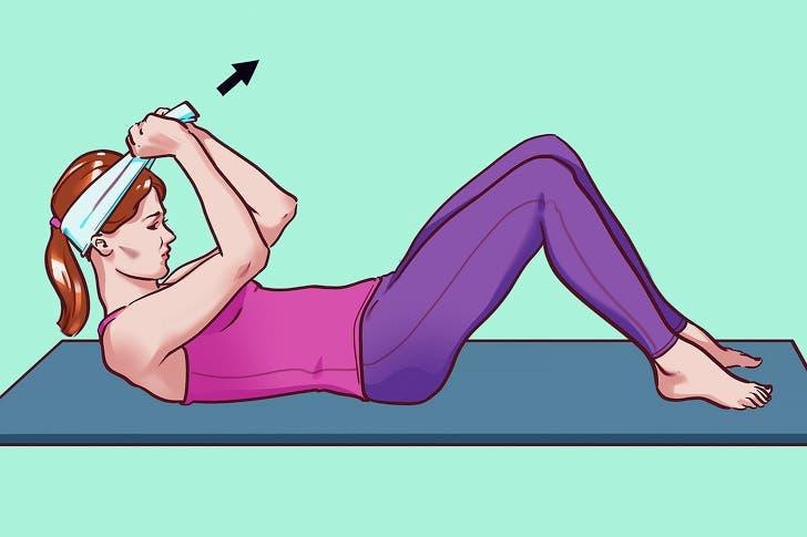 exercices d'étirement