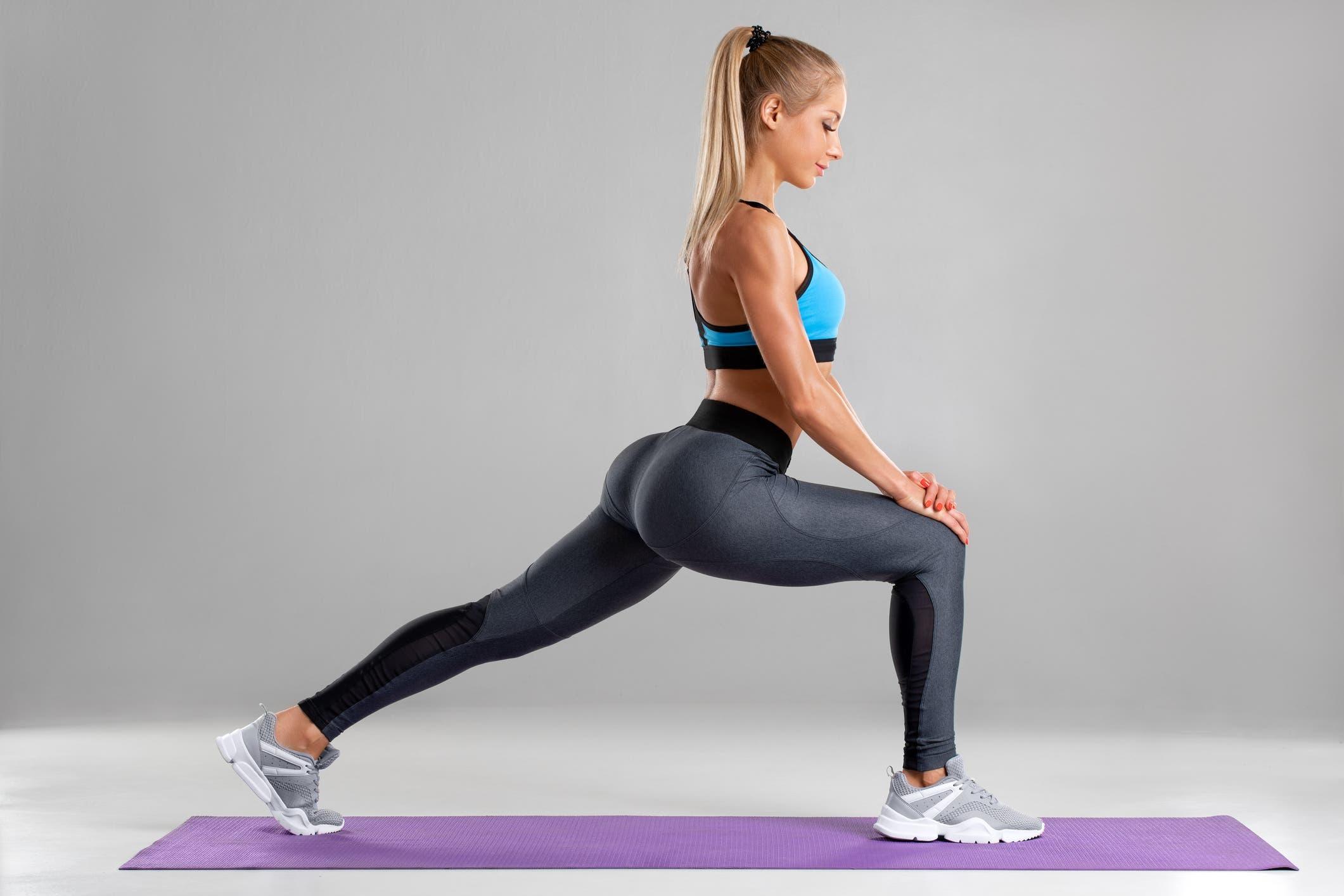 exercice fente avant