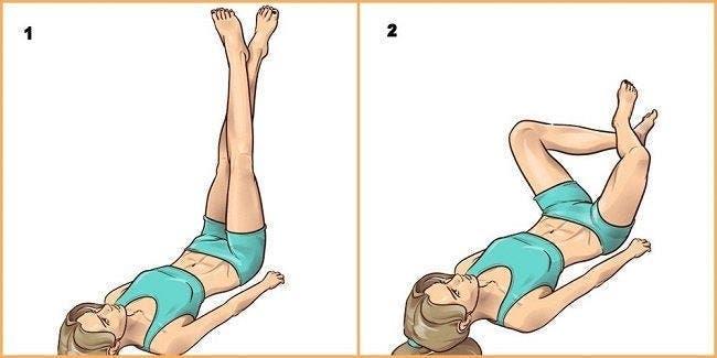 exercices simples à réaliser dans son lit avant de dormir pour affiner les jambes