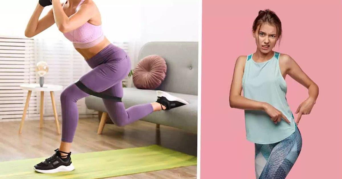 6 exercices pour se débarrasser de la graisse sous les fesses