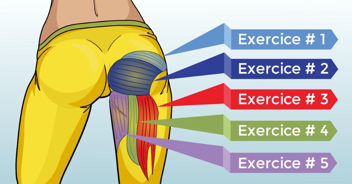 exercices pour avoir des jambes et des fesses superbes