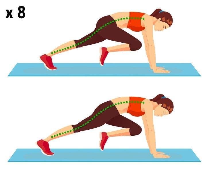 exercices pour brûler la graisse du ventre sans courir