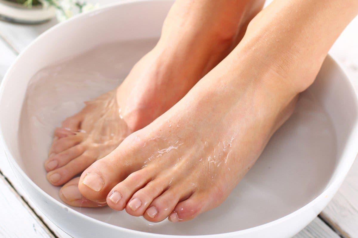 exfoliation des pieds