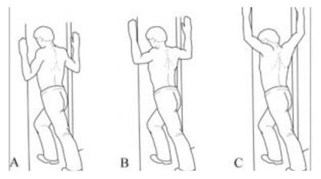 extension des bras