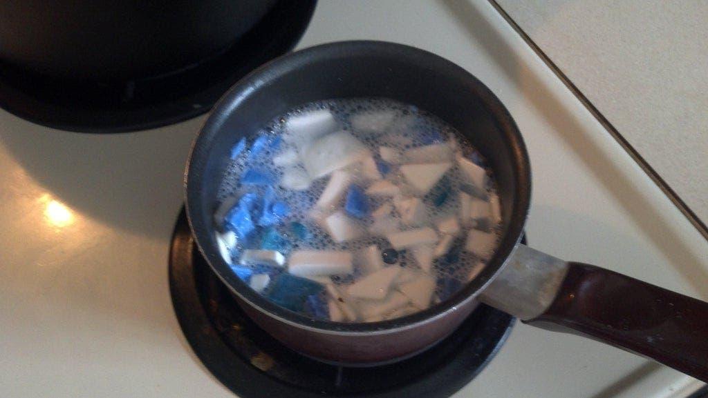 faire fondre savon