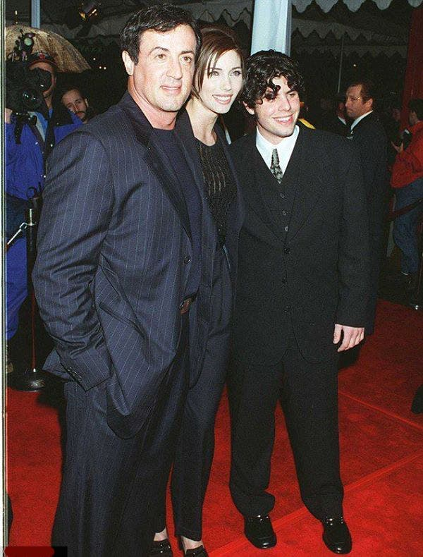 famille stallone tapis rouge