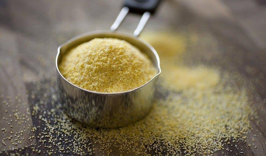 farine de mais ou davoine