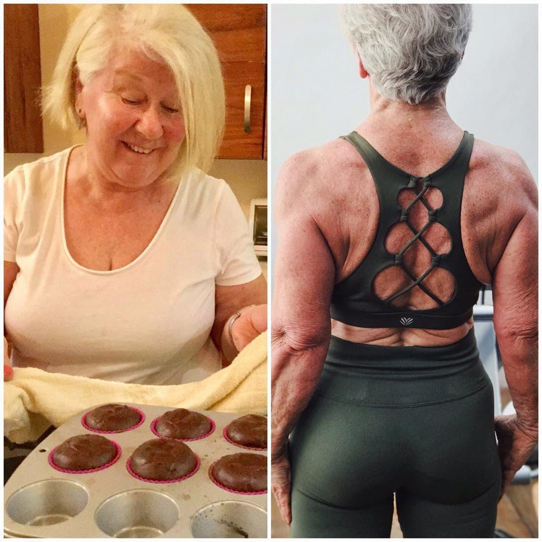 cette mamie transforme son corps et devient source d'inspiration