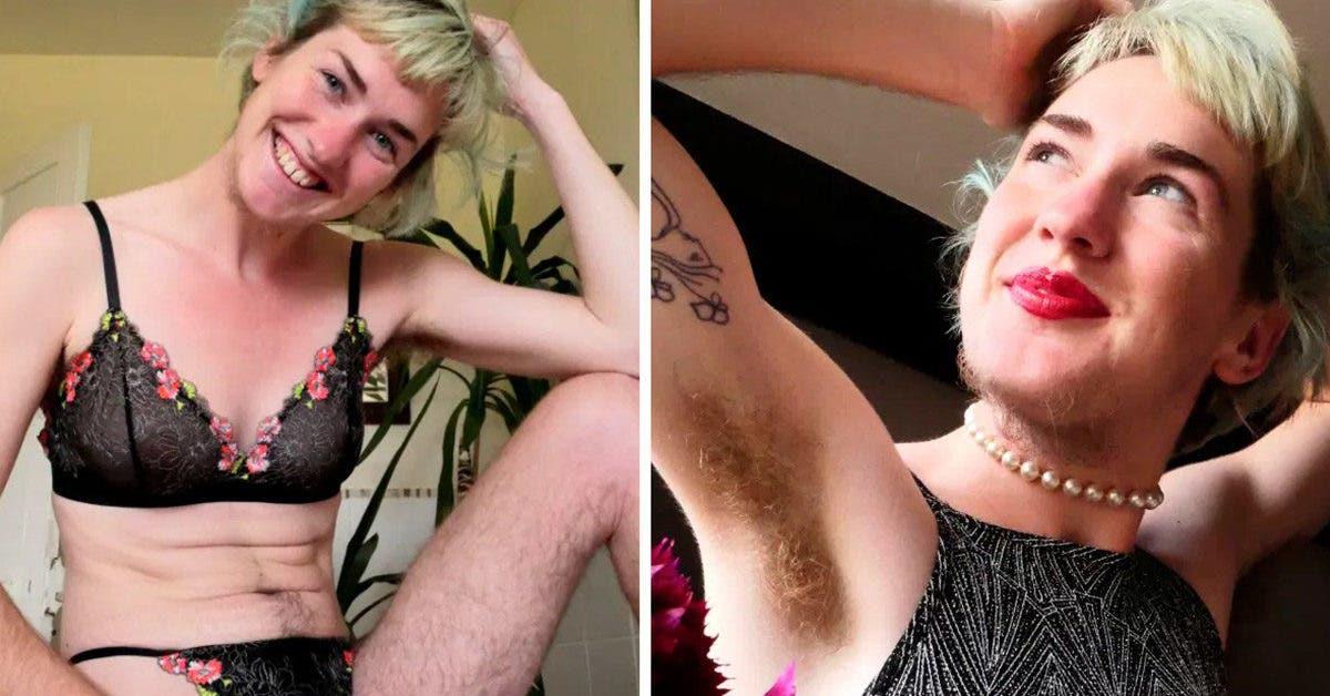 « On me dit que je ressemble à un homme » Cette femme cesse de se raser pour apprécier les poils de son corps