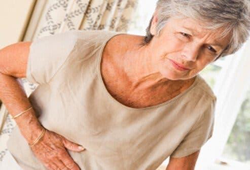 femme indigestion