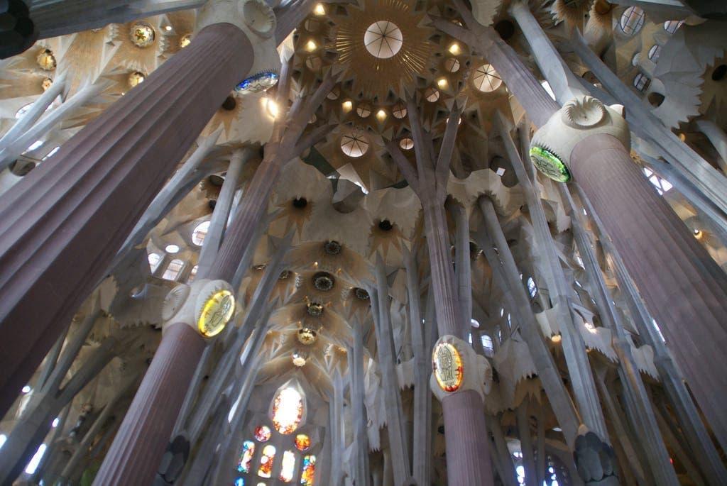 Même La Sagrada Familia de Gaudi peut être source d'anxiété.