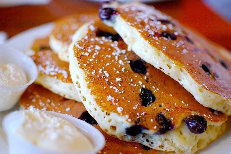 Les pâtissiers doivent également faire attention, ils ne sont pas à l'abri face aux pancakes à la myrtille.