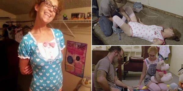 Fétichiste, elle révèle aimer se déguiser en bébé pour son amant